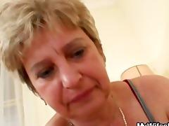 pecker hungry granny fucks her son in law