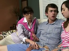 slutty mommy craves juvenile wench to gag on a