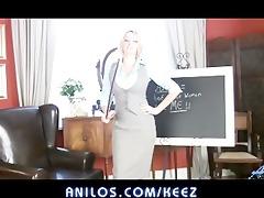 bigtit office mommy amber jayne cums hard