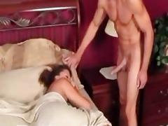 sleeping mama receives fucked