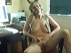 wife teasing the web camera