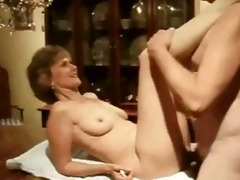 aged chick table fucked