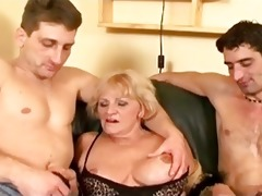 sexually excited grandma is at it is once more wit