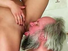 beauty punishing and fucking a grandpapa