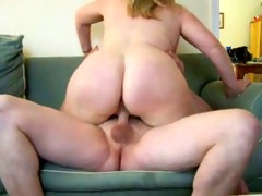older chunky wife on bed