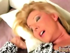 granny drilled by younger man