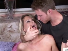 cougar bridgette lee cums hard