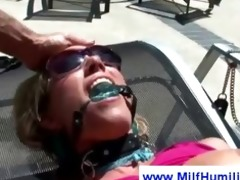 d like to fuck at the pool gets herself abased