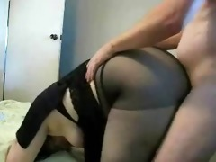 older receives drilled from behind
