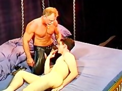 cbt beginners session with young, hung, brawny
