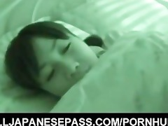 sleeping hotty hikaru momose has surprise sex