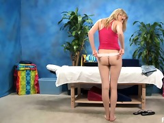 cute blond angel allie receives enticed by her
