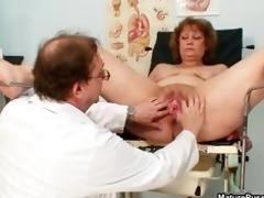 concupiscent doctor abusing a filthy grandma part8
