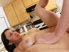 bigtit mother i jillian foxxx pounded in kitchen