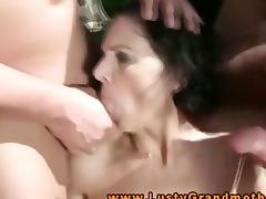 wam granny voided urine on while engulfing