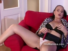 older lesbo seduces sons girlfriend during the