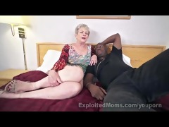 aged lady in creampie interracial episode