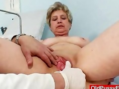 breasty grandmother ruzena visits gyno fetish