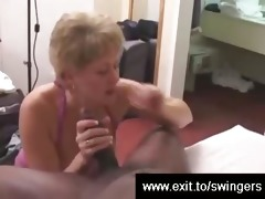 swinger mom tracey devours bbc whilst hubby films