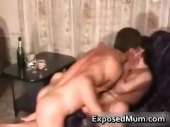 glamorous mamma takin a gulp and fucking