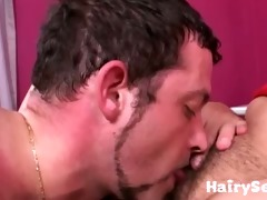 giant hairy cooter licked