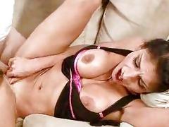 hot breasty brunette hair d like to fuck sucks