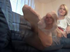 admirable woman priceless nylonfeet 21