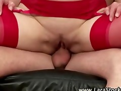 see wicked nylons slut get a spunk fountain