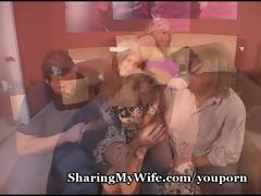 pathetic hubby watches sexy wife