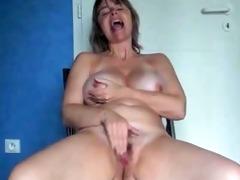 hawt mature masturbation