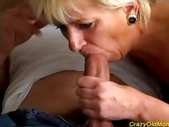 eager old mamma acquires screwed hard