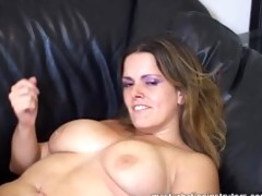 sexy and ravishing large titted jerk off