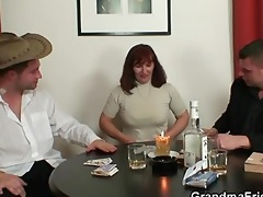 undress poker leads to trio