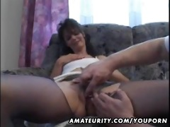 older dilettante housewife homemade fuck with