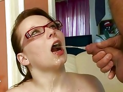 grandpa fucking and pissing on nasty breasty cutie