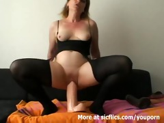 humongous sex toy fuck and fisting doxy