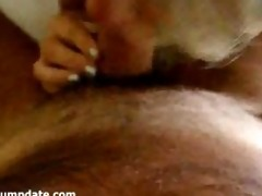 cute mother i gives a priceless oral and eats the