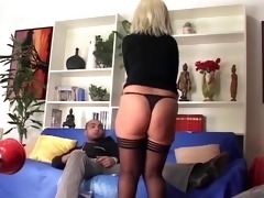ass drilled granny