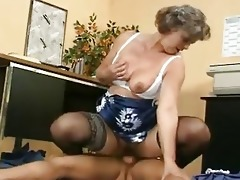 mature shows her love melons and shaggy twat
