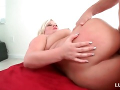 chubby arse blond fur pie and face hole screwed