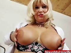 filthy blond large pantoons mother i in nurse