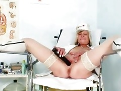 bawdy nurse mother i nada copulates herself with