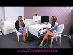 femaleagent shy gal turns into insatiable paramour