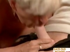 she is is old but hungry for cock