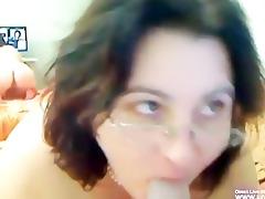 sexy aged big beautiful woman masturbates her