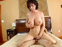 breasty mamma deauxma squirts from anal!