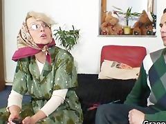 nasty grandma gives up her vagina