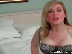 hot golden-haired mother i is stripping part9