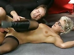 shorthaired mature takes it is in the one and the
