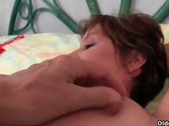 granny joy can live out of to tease with her big